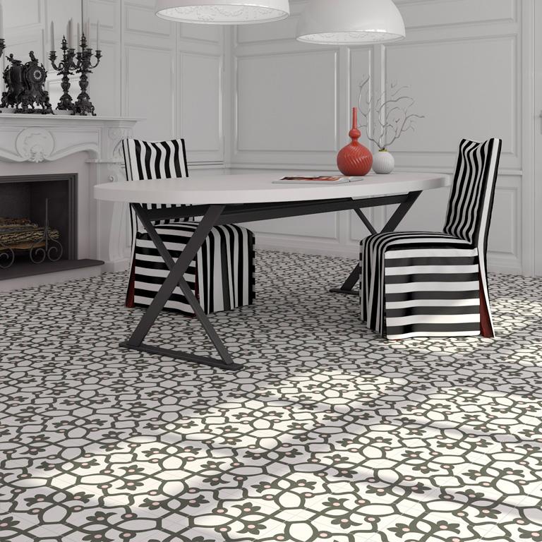 aspect carreau ciment. Black Bedroom Furniture Sets. Home Design Ideas